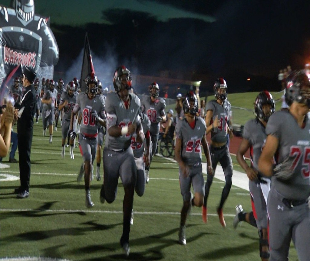 West Football Faces Key District Game