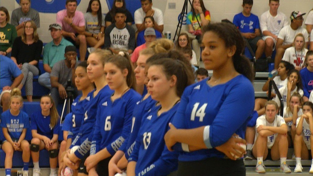 Flyer Volleyball Wins Area Playoff