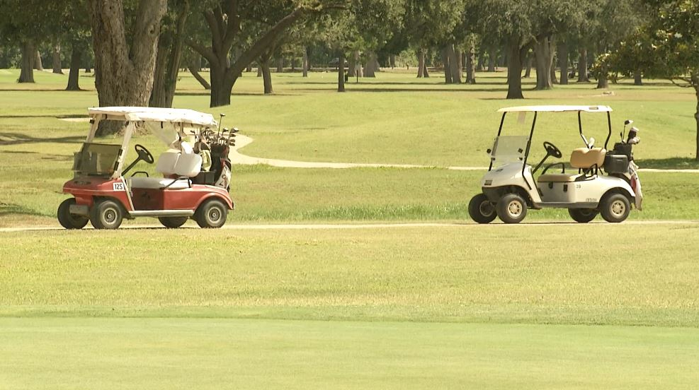 2 killed in truck, golf cart collision in southeastern Texas