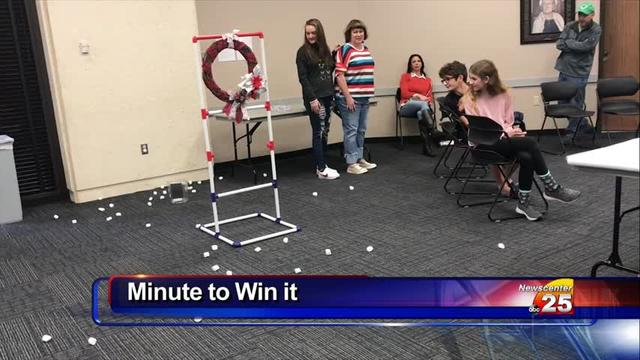 The Inaguaral Minute it to Win it Games took place on Saturday
