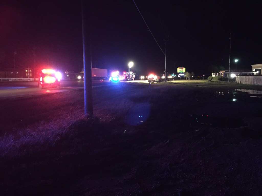 Accident on Houston Highway Sends One Man to Hospital