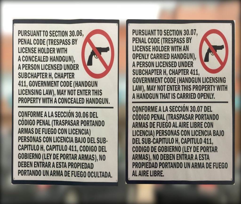 Open Carry Begins, Businesses Prepare