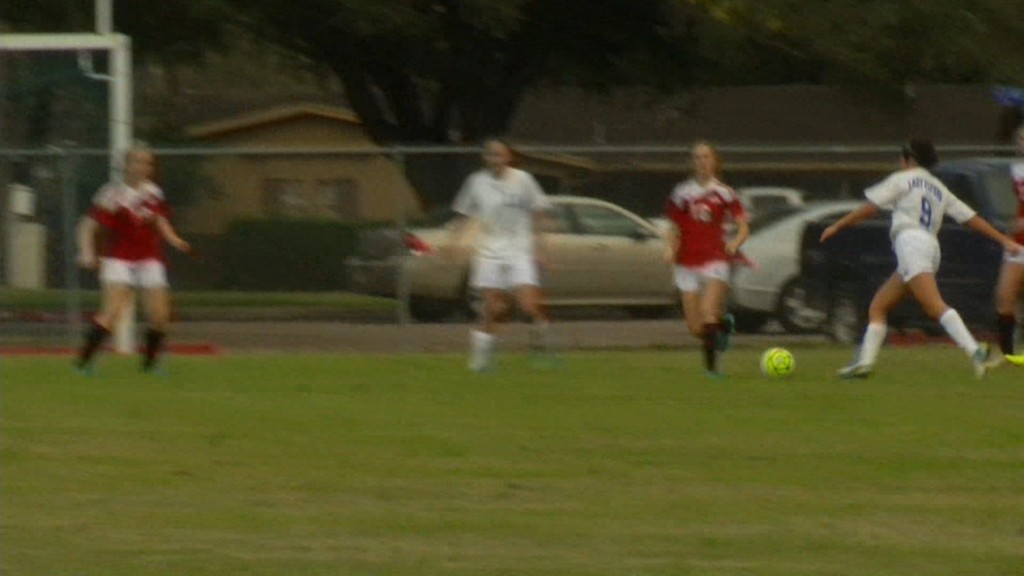 Lady Flyers Soccer lose to IWA