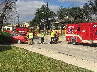 Sam Houston Accident Sends Woman to Hospital