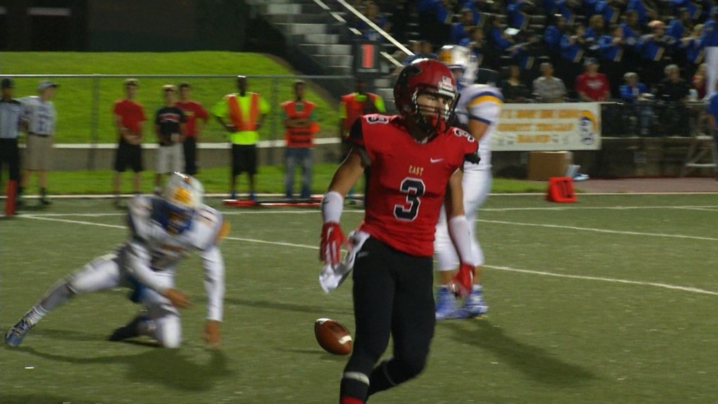 East Receiver Makes College Commitment