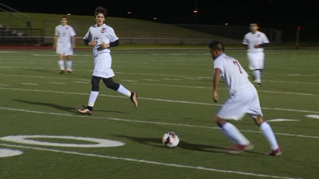 West Soccer Starts District Against Gregory-Portland