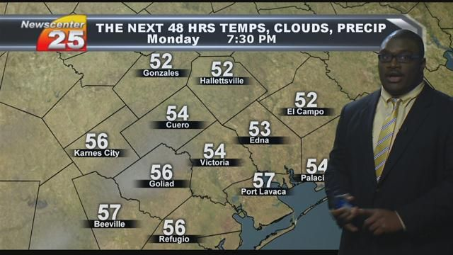 Your Sunday Evening Forecast