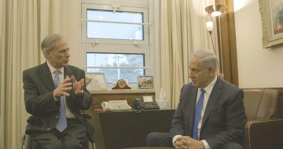 Governor Abbott Meets With Israeli Prime Minister Netanyahu