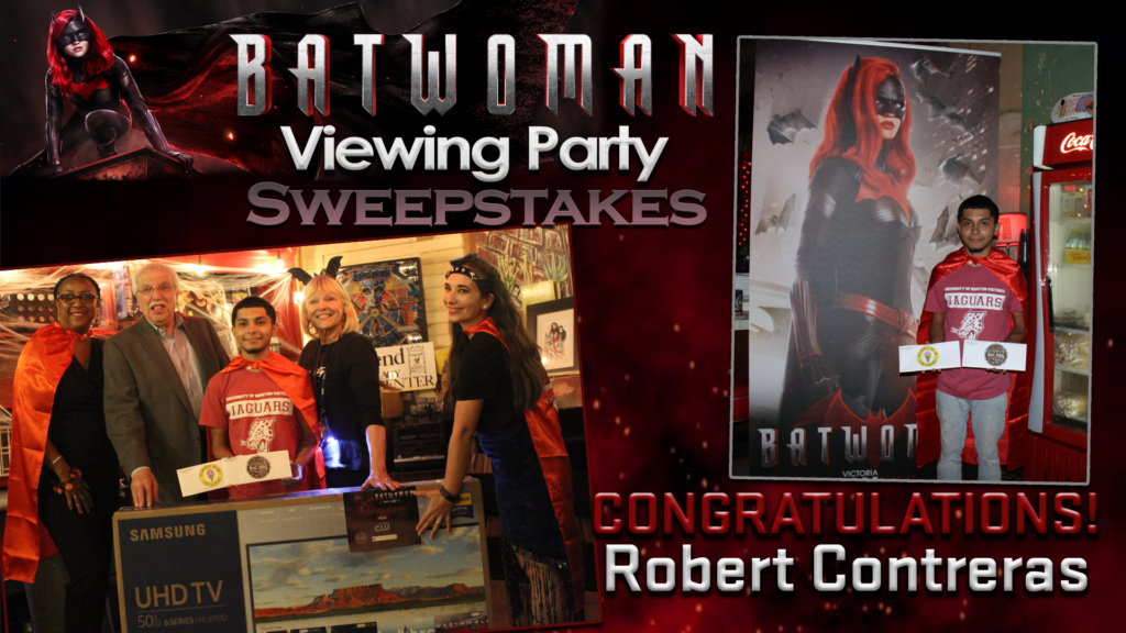 Batwoman Viewing Party Winner