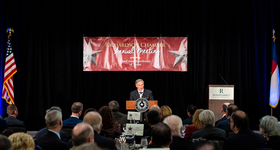 Governor Abbott delivers State of the State remarks at Richardson Chamber of Commerce luncheon