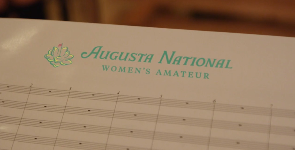 Augusta National Women's Amateur releases new theme song