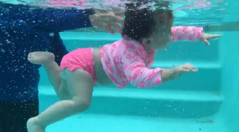 Victoria moms work with Baby Otter Swim School to prevent childhood drowning