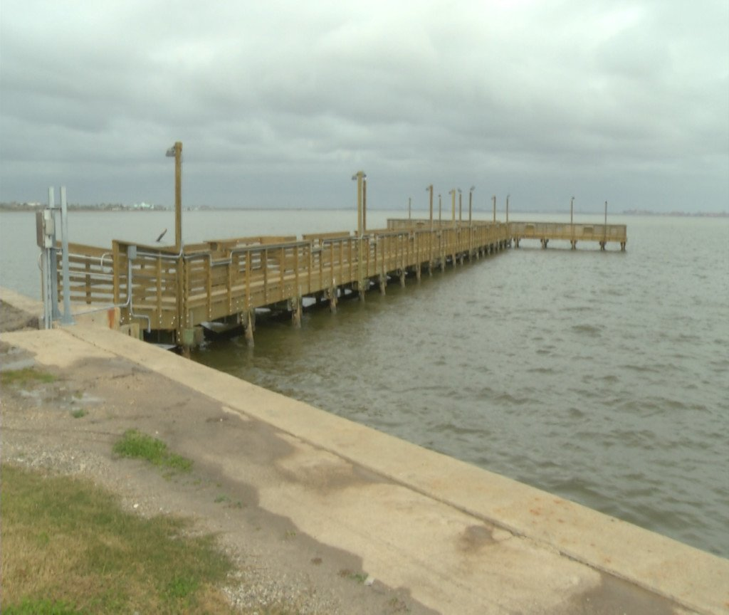 Bayfront Peninsula Pier re-opened 1.5 years after Hurricane Harvey