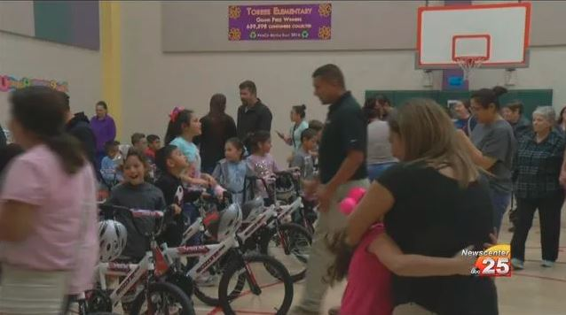 Torres Elementary receives bike donation