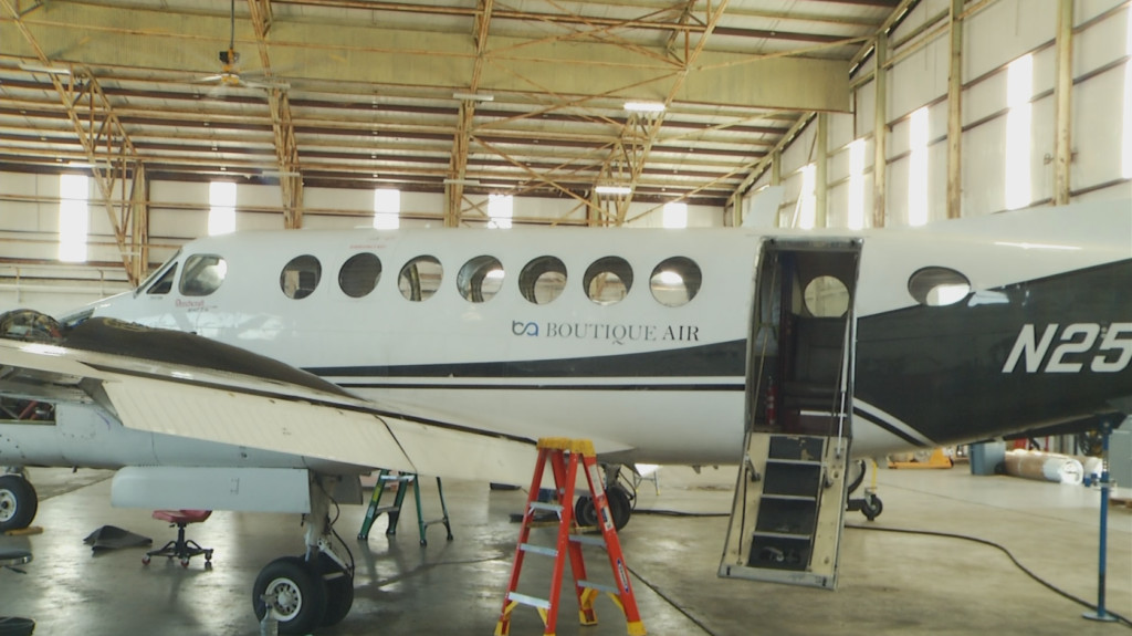 Boutique Air looking to expand maintenance facility in Victoria