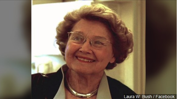 Former first lady Laura Bush's mother dies in Texas at 99
