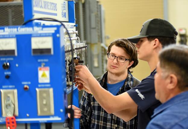 Hands-on activities help Calhoun students explore industrial trades at VC