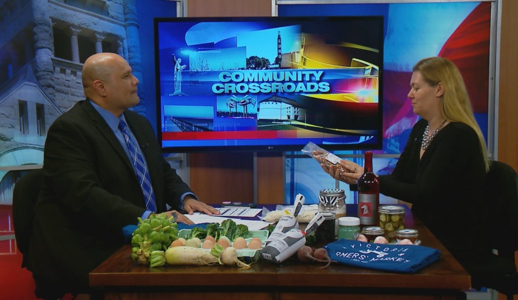 Community Crossroads welcomes The Farmer's Market with news about The Food Bank