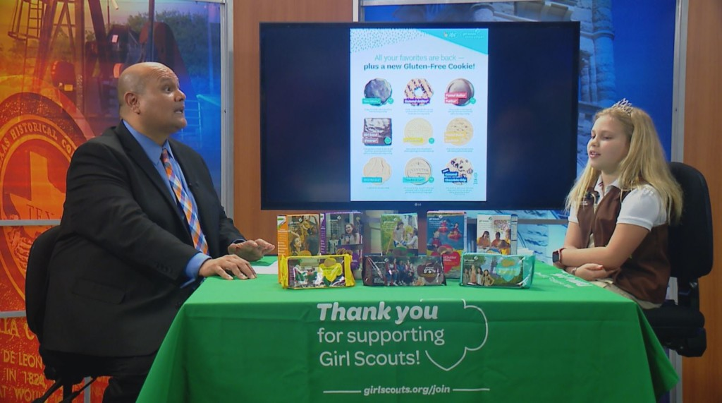 Community Crossroads welcomes the Girl Scout Cookie Princess