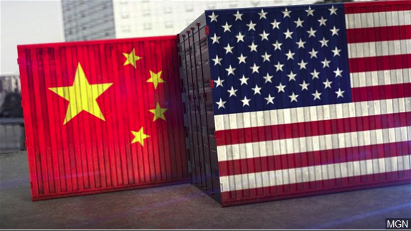 Dow drops 600 points after China announced retaliatory tariffs on US