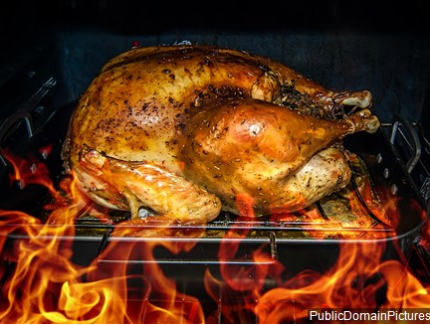 Thanksgiving is by far the leading day for U.S. home cooking fires