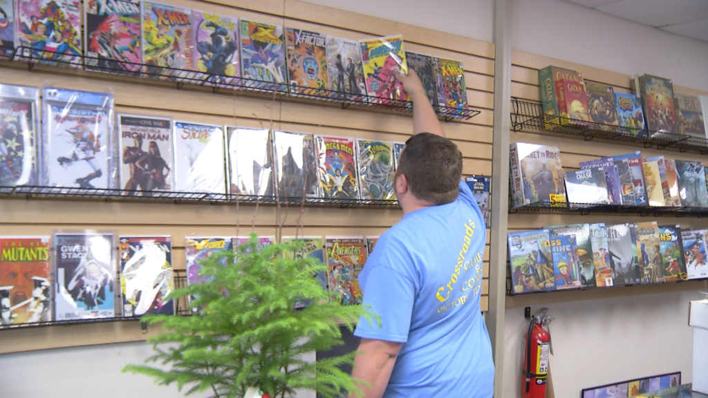 Crossroads Comics closing its doors Monday
