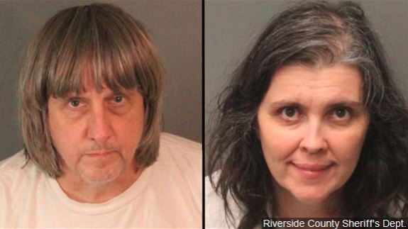 California couple who shackled and abused children get life in prison