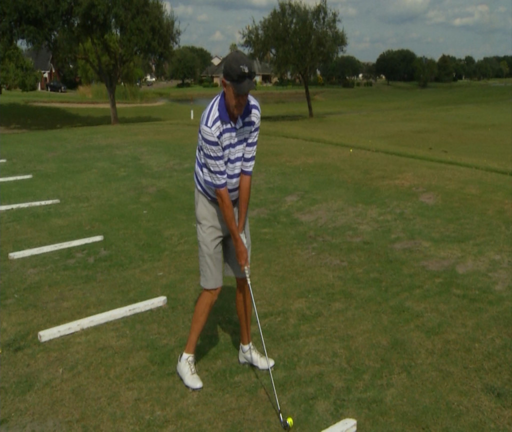 Local Golf Pro Tied For STPGA Lead & UHV Coach Plays