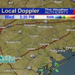 Fair to Partly Cloudy and Warm with Only Isolated Coastal Showers Late Today