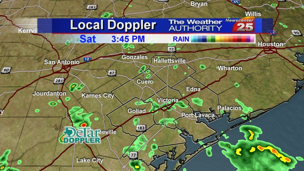 Scattered Showers this evening, drier air setting in later