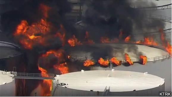 Texas AG sues company over chemical plant fire