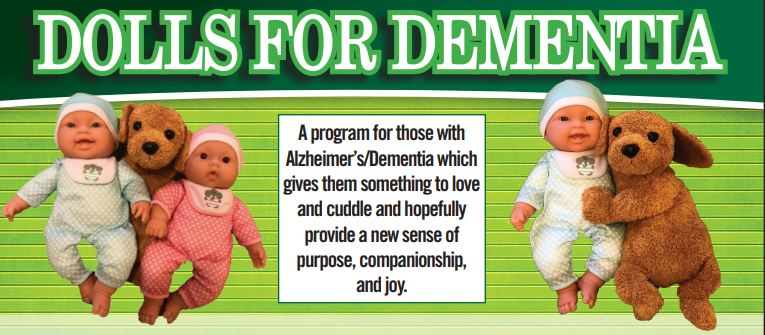 Community Crossroads welcomes Dolls For Dementia