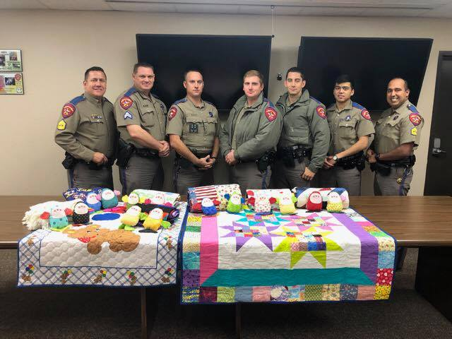 DPS Receives Donations from Sewing Society
