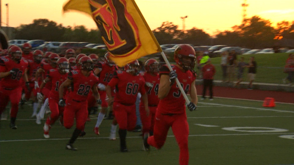 East Football Standout Visits Friday Football Fever