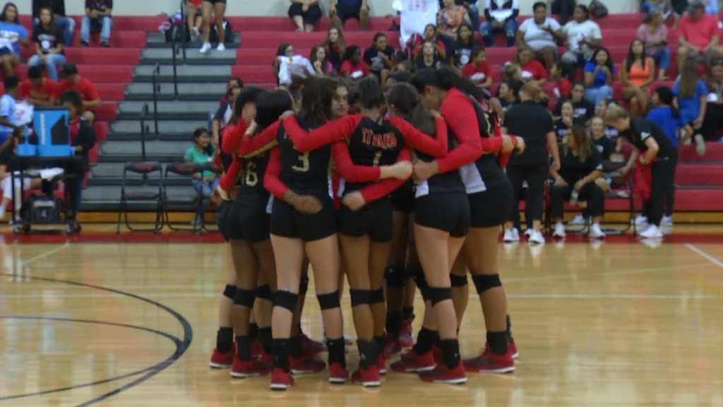 East Volleyball Starts Pre-Season Workouts 8-2