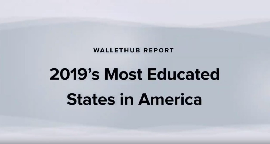 Study shows Texas is 2019's 12th least educated state in America