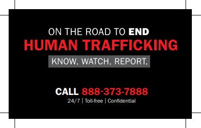 TxDOT joins statewide effort to end human trafficking