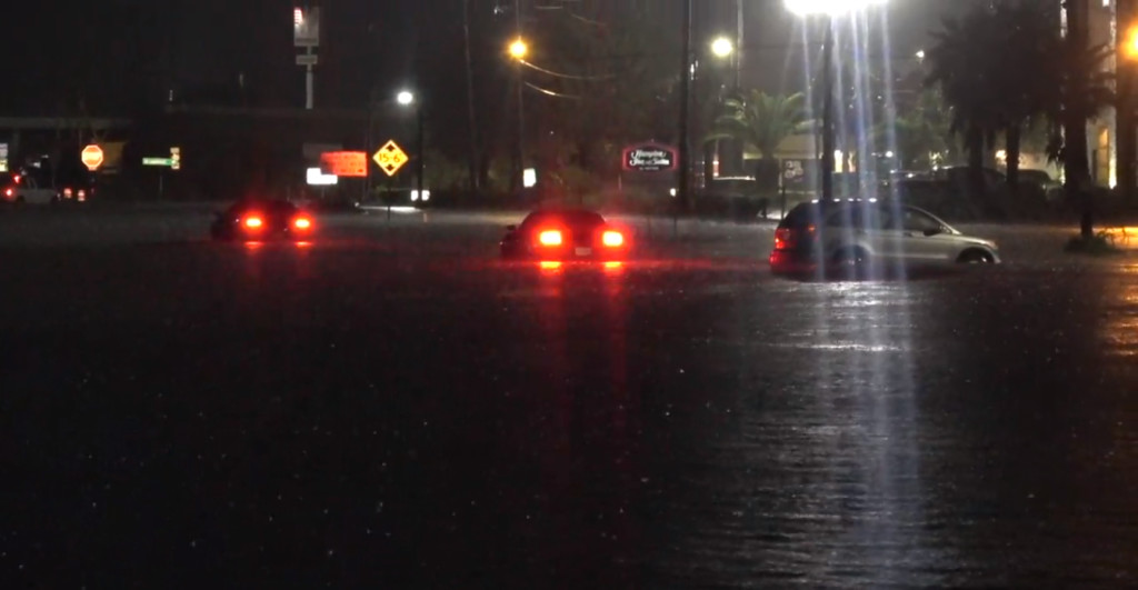 Hundreds rescued as heavy rains drench Texas