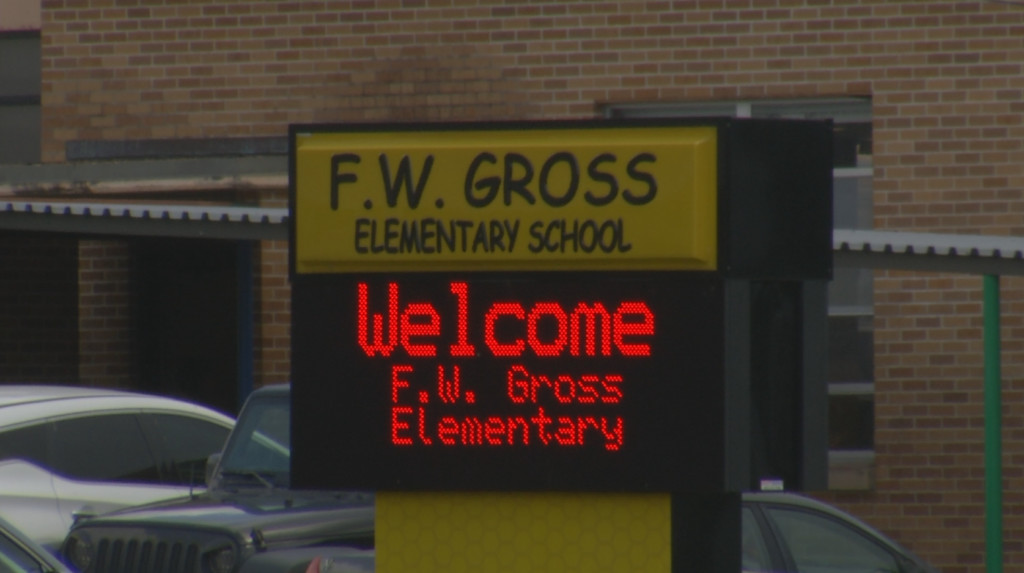 Gross Elementary placed on lockdown after man threatened students