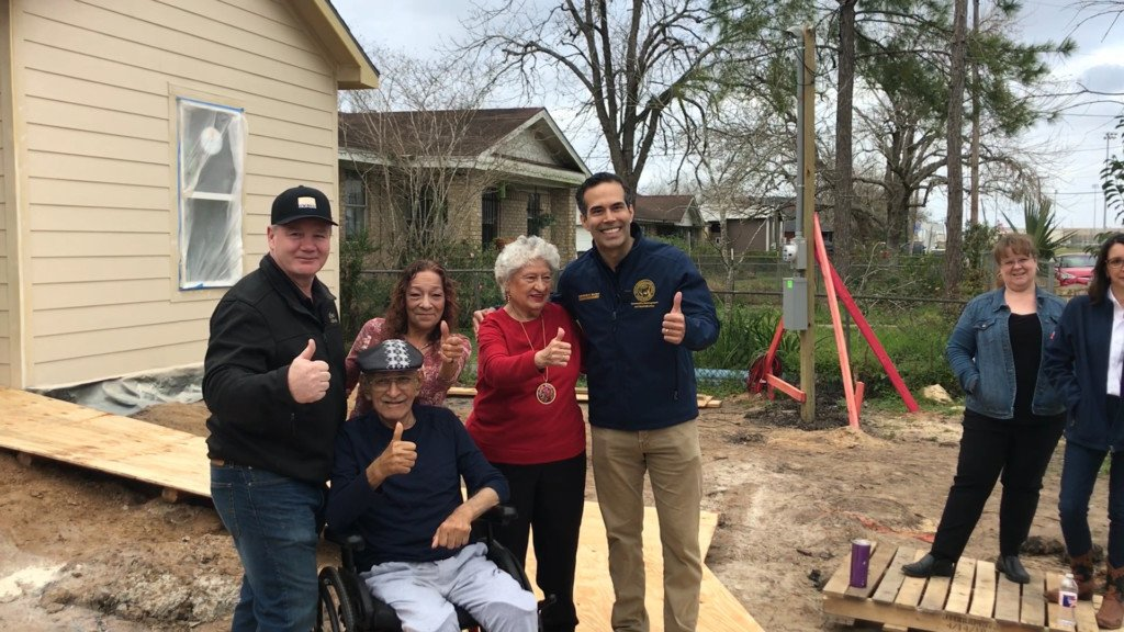 George P. Bush urges residents to apply for HAP program