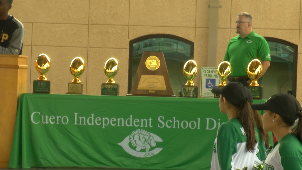 Gobbler State Championship Parade Held Saturday