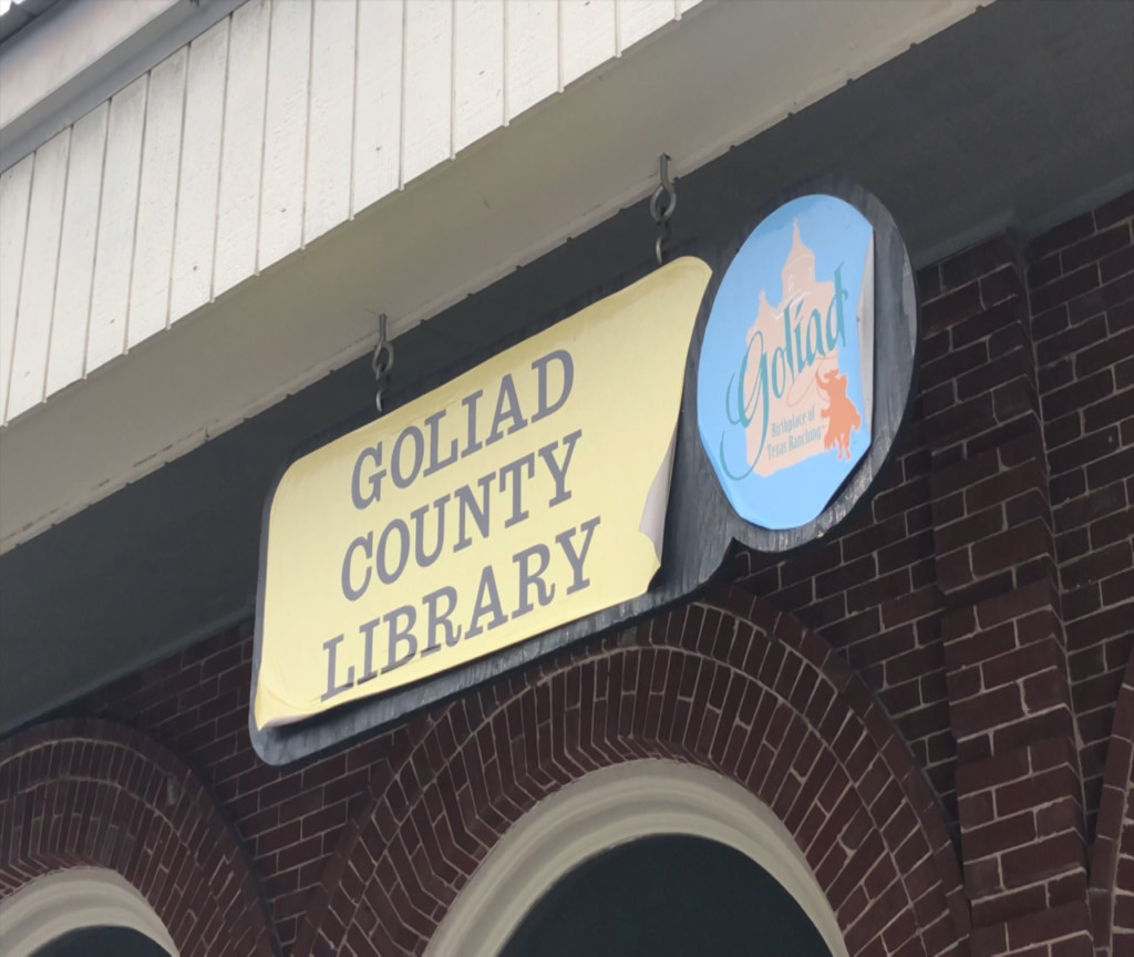 Goliad County Library receive grant to renovate interior