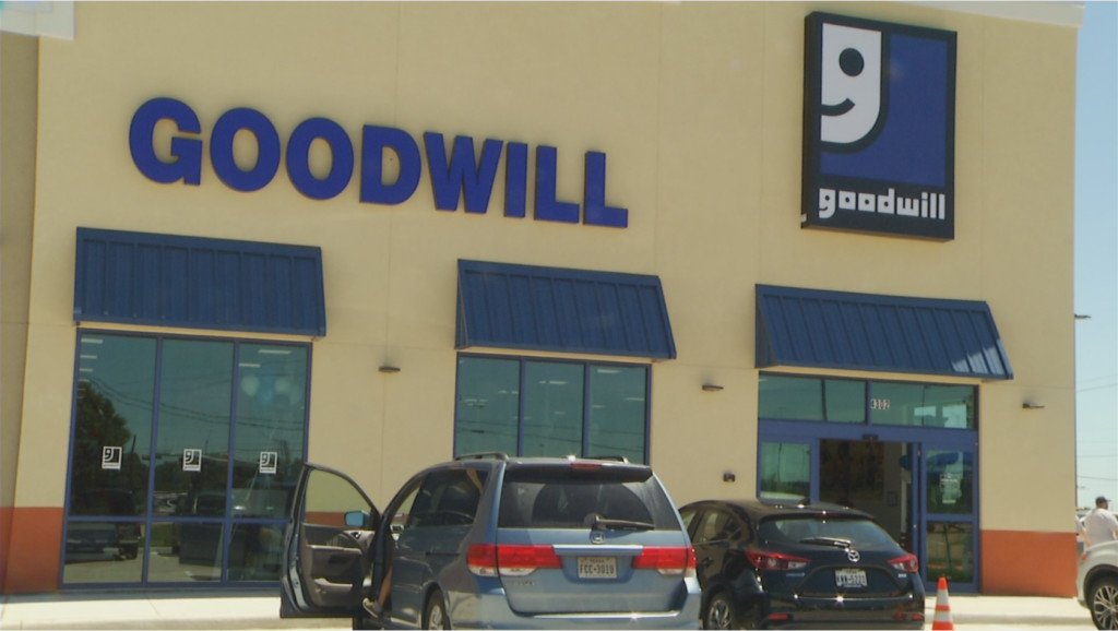 Grand opening for a new Goodwill in Victoria
