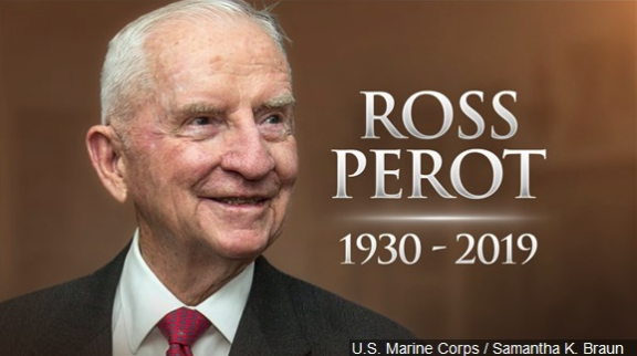 Services set to remember H. Ross Perot in Dallas