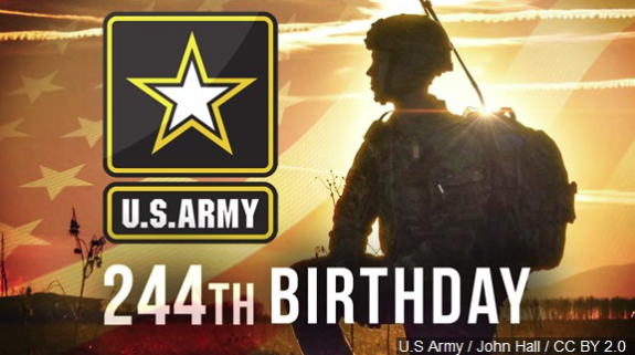 Happy 244th Birthday to the United States Army