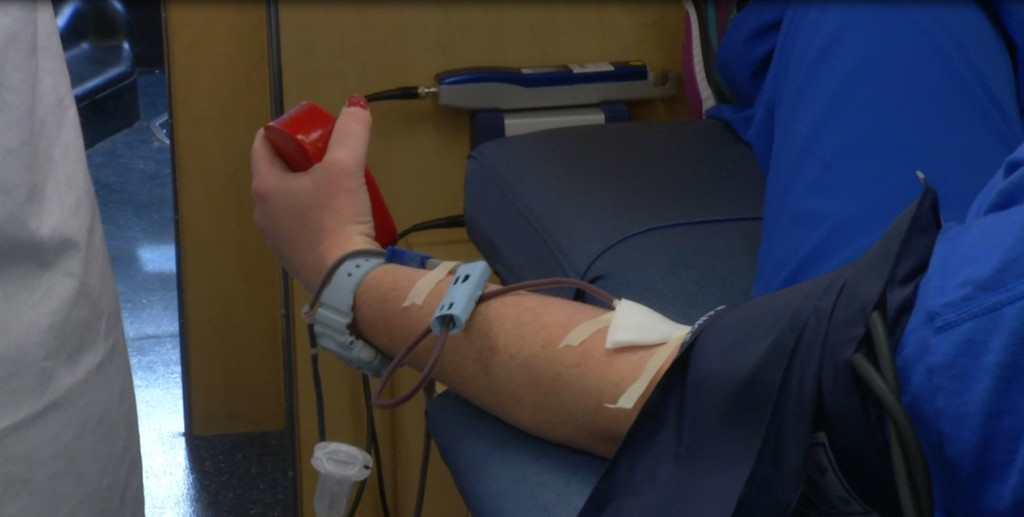 Valentine's/National Donor Day blood drive a success for Harbor Hospice