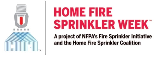 NFPA and Home Fire Sprinkler Coalition announce week of action for America's home fire problem