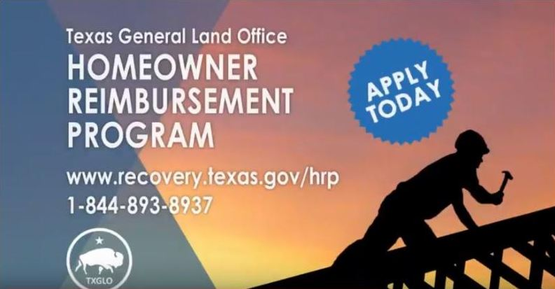 Cmr. George P. Bush announces launch of Homeowner Reimbursement Program
