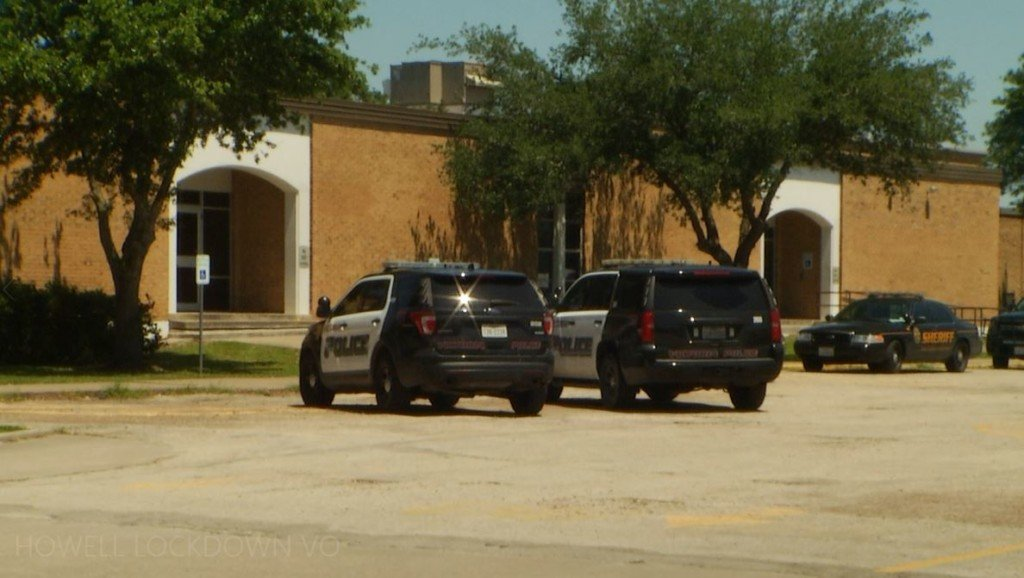 Howell Middle School goes into lock down due to gun threat