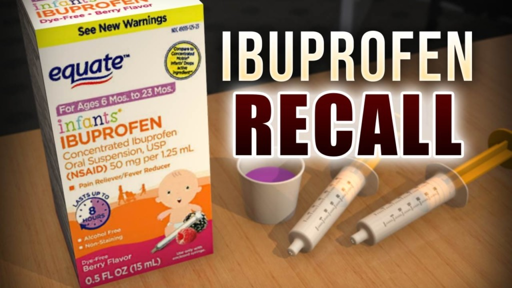 Drug company expands voluntary recall of infant ibuprofen